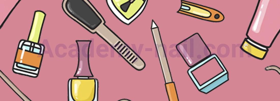 ابزارها و مواد لازم برای آموزش کاشت ناخن با پلی ژل | نیل آکادمی